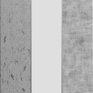 106517 Milan Stripe Silver