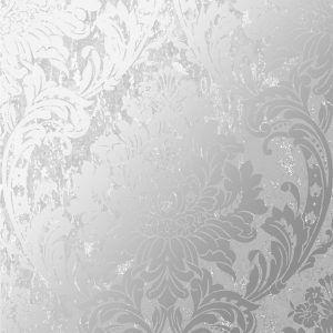 106520 Milan Damask Silver